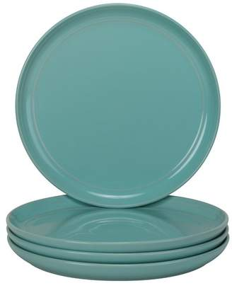 10 Strawberry Street Double Line Salad Plates, Set of 4