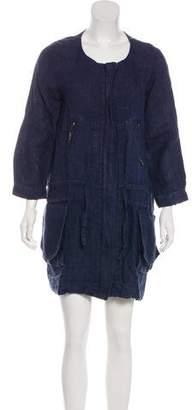 Joseph Linen Mini Dress