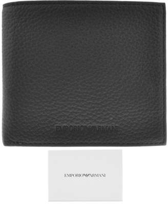Giorgio Armani Emporio Logo Wallet Black