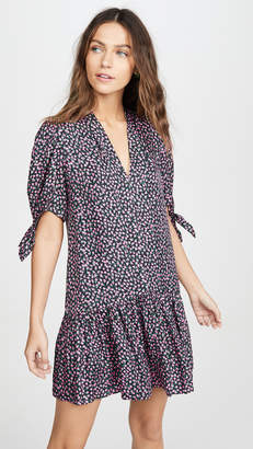 Rebecca Taylor Short Sleeve Wild Rose Dress