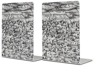 Fornasetti Gerusalemme bookend set