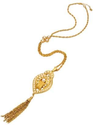 Ben-Amun Ben Amun Pearl Tassel Necklace
