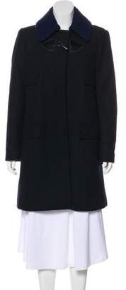 See by Chloe Knee-Length Wool Coat