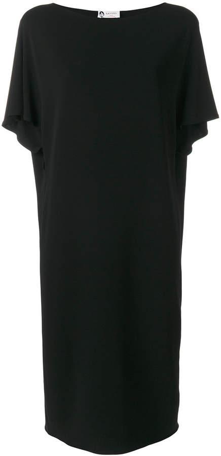 Lanvin mesh belted dress