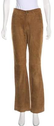 Ralph Lauren Sport Suede Mid-Rise Pants