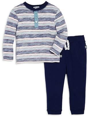 Splendid Boys' Henley Shirt & Jogger Pants Set - Baby