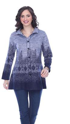 Parsley & Sage Ombre Knit Shirt