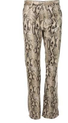 MSGM Python Trousers
