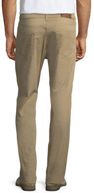 Luciano Barbera Five-Pocket Straight-Leg Trouser Pants