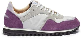 Spalwart 'Marathon Trail Low' contrast suede panel mesh sneakers