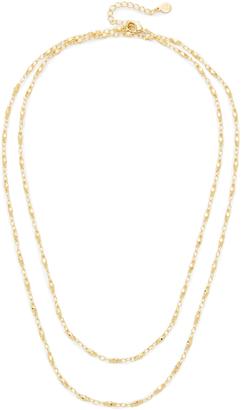 Gorjana Layer Bead Wrap Necklace $60 thestylecure.com