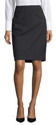 Jones New York Heathered Pencil Skirt