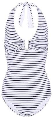 Melissa Odabash Tampa striped swimsuit