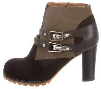 See by Chloe Leather & Suede Ankle Boots
