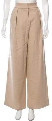 Mara Hoffman Wide-Leg Wool Pants