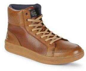 Original Penguin Beckin Leather High-Top Sneakers