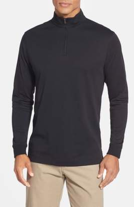 Cutter & Buck 'Belfair' Quarter Zip Pima Cotton Pullover