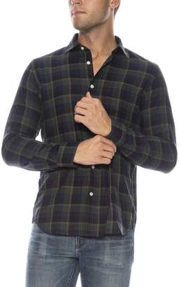 Hartford Storm Slim Fit Button Down Shirt