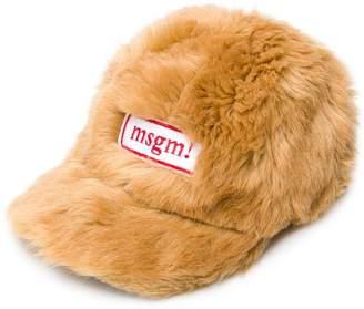 MSGM furry cap