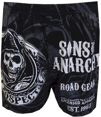 Briefly Stated Sons Of Anarchy Road Gear Boxer Shorts for men