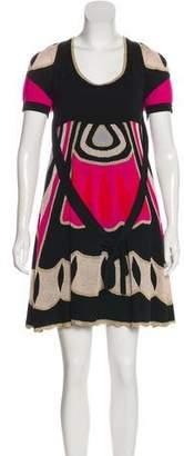 Temperley London Metallic Knee-Length Dress