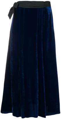 Forte Forte velvet full length skirt