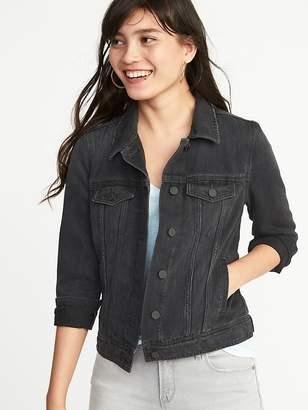Old Navy Black Denim Jacket for Women