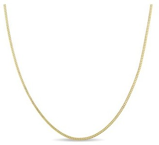 """Asteria 10kt Yellow Gold Men's Franco Link Necklace, 20""""inch"""