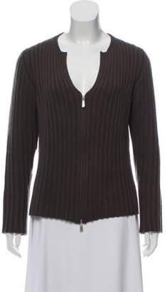 Malo Cashmere Rib Knit Sweater Cashmere Rib Knit Sweater