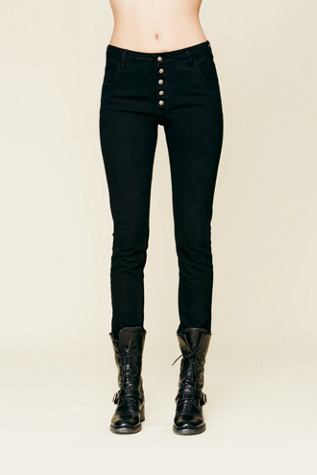 Free People Courtshop Cody High Rise Skinny