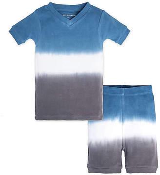 Burt's Bees Baby Tri Dip Dye Organic Cotton Short Sleeve Pajamas