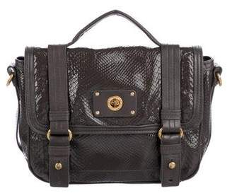 Marc by Marc Jacobs Turnlock Shine Embossed Satchel