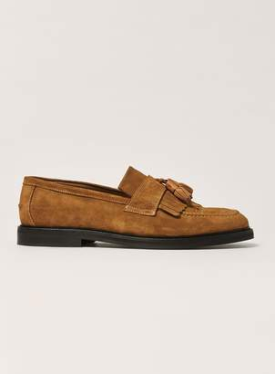 Topman HOUSE OF HOUNDS Tan Leather Tassel Loafers