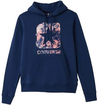 Converse Cotton Hoodie with Print on Front