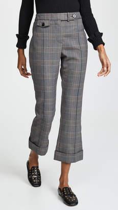 Derek Lam 10 Crosby Cropped Flare Trousers