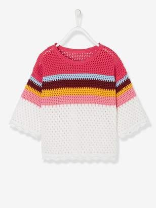Vertbaudet Crochet Top for Girls