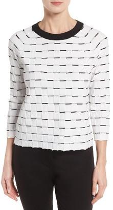 Women's Classiques Entier Jacquard Sweater $169 thestylecure.com