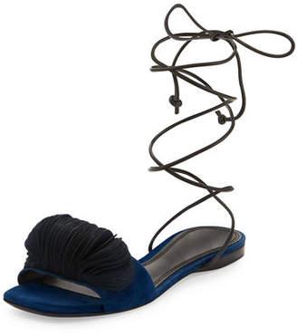 Mercedes Castillo Odalia Lace-Up Suede Sandal