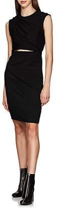 Alexander Wang Women's Twisted Stretch-Cotton T-Shirt Dress - Black