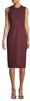 Jason Wu Compact Crepe Sleeveless Sheath Dress