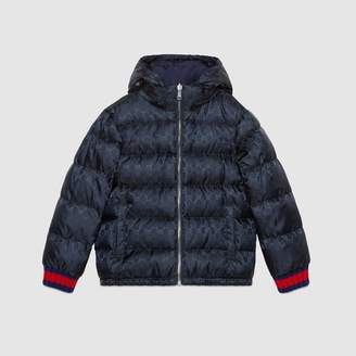 Gucci Children's reversible GG jacquard jacket