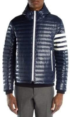 Thom Browne Striped Down Jacket