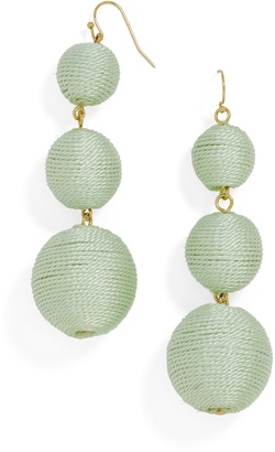 Vivid Crispin Ball Drop Earrings $48 thestylecure.com