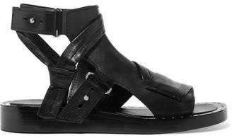 3.1 Phillip Lim - Nagano Studded Leather Sandals - Black $595 thestylecure.com