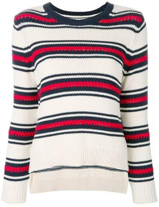 Parker Chinti & striped jumper