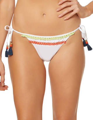 Jessica Simpson Self-Tie Hipster Bikini Bottom