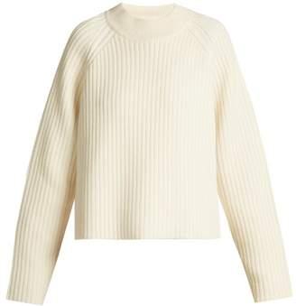 Proenza Schouler Wool Blend Round Neck Sweater - Womens - Ivory