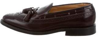 Allen Edmonds Leather Wingtip Brogues