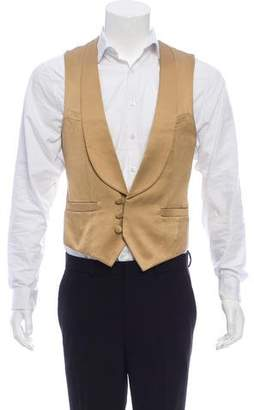 Number Nine Number (N)ine Three-Button Silk Vest