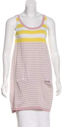 Cacharel Sleeveless Striped Tunic